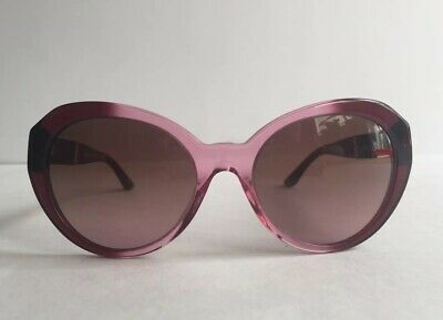 e0382fc120e NEW Versace MOD 4306-Q 5151 14 Women Red Gradient Medusa Leather made in