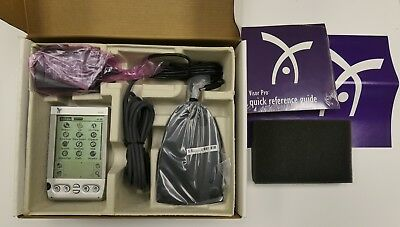 HANDSPRING Visor Pro 16mb (SIlver) in a box with original accessaries