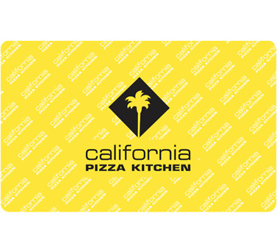$50 California Pizza Kitchen Physical Gift Card For $47.50 - FREE 1st Class Mail