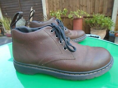 Dr Martens Barnie Brown Chukka Style Boots Uk 6 Eu 39.