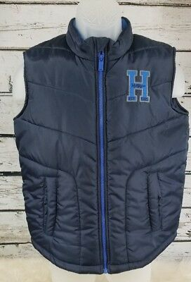 Tommy Hilfiger Navy Blue Winter Puff Vest - Boys Large