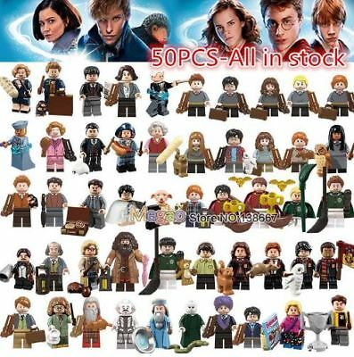 Legoings Harry Potter Figures Hermione Granger Hagrid Lord Voldemort ETC Toys