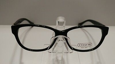 5f1769a9255c Authentic Coach RX Eyeglasses Frames HC 6038F (AMARA) S 5002 (BLACK) 53