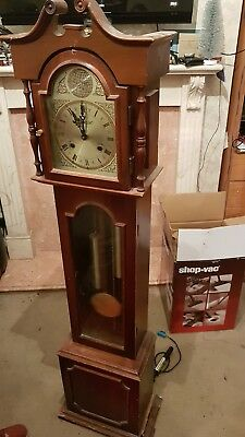 grandmother clock antique pine