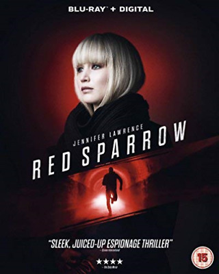 Red Sparrow Retail Blu-Ray Disc Blu-Ray New
