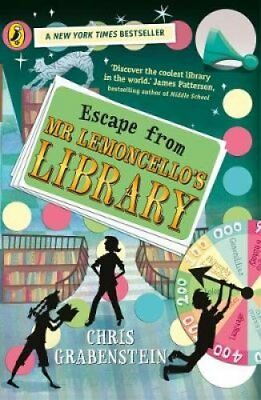 Escape from Mr Lemoncello's Library by Chris Grabenstein 9780141387666