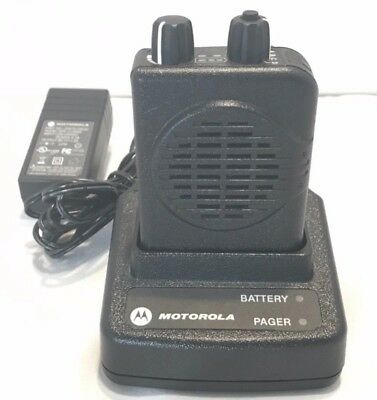 Motorola Minitor V (5) VHF Pager 151-158.975 MHz and Charger