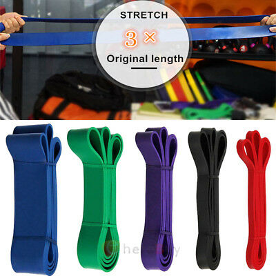 POWER GUIDANCE Pull Up Exercise Bands For Resistance Body Stretching Fitness New