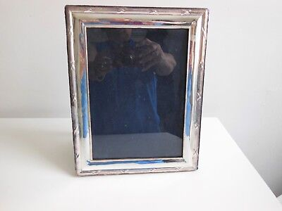 Large  Classic Style Hallmarked Sterling Silver Photo Frame