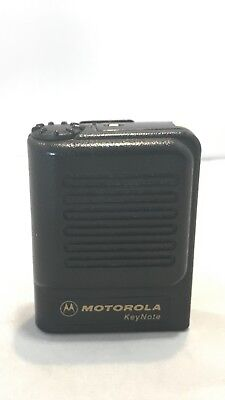 Motorola KeyNote VHF Tone & Voice Pager with Vibrate
