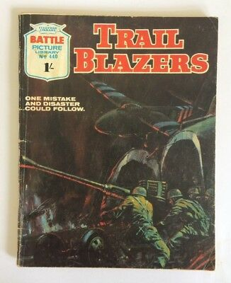 Battle Picture Library #440, Trail Blazers, 1970
