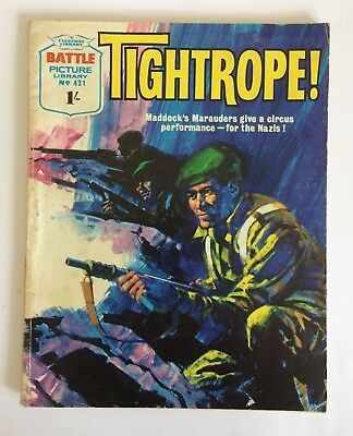 Battle Picture Library #421, Tightrope! 1969