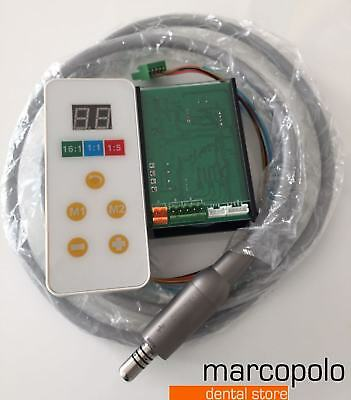 Micromotore elettrico Brushless Led riunito dentale dental built-in micromotor