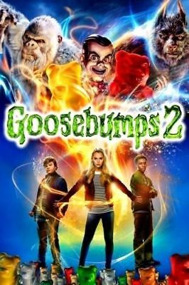 Goosebumps 2: Haunted Halloween (Dvd, 2018) (Dvd, 2019) New Ships On 01-15-19