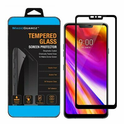 MagicGuardz® For LG G7 ThinQ Full Coverage Tempered Glass Screen Protector