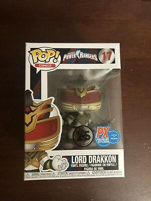 Funko Pop! Lord Drakkon Power Rangers MMPR PX Previews Exclusive IN HAND Pop 17