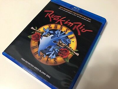 Guns N' Roses Live Rock In Rio 2017 Bluray