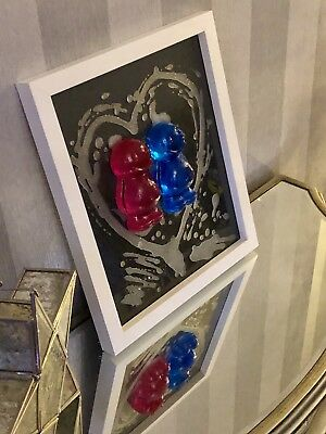 Melting Jelly Babies 3d Art Wedding Gift