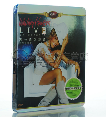 WHITNEY HOUSTON - Live in Concert - DVD CHINA NEW SEALED CHINESE NO JAPAN