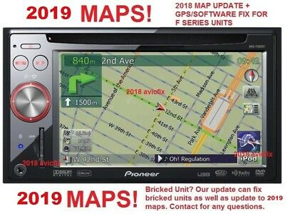 GPS REPAIR 2019 Map Update Pioneer Avic F900BT F90BT F700BT Deluxe 4 001