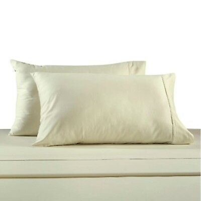 Bed Bath & Beyond 330-Thread Count 100% Cotton Sateen King Pillowcases in Ivo...