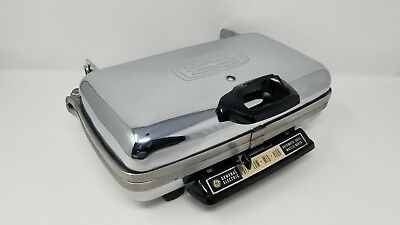 Vintage GE General Electric Automatic Grill Waffle Baker 14G44 - Excellent Shape