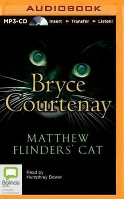 NEW Matthew Flinders' Cat By Bryce Courtenay CD in MP3 Format Free Shipping