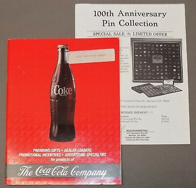 COCA-COLA CATALOG Coke gifts premiums advertising dealer promotions Sprite 1987