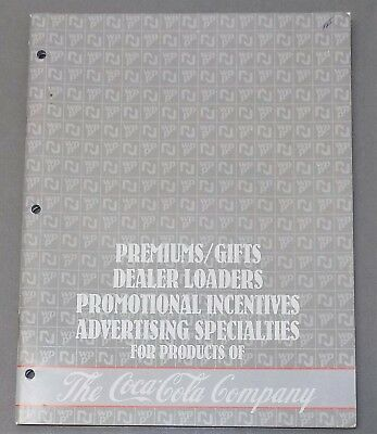 COCA-COLA CATALOG Coke gifts premiums advertising dealer promotions Sprite 1985
