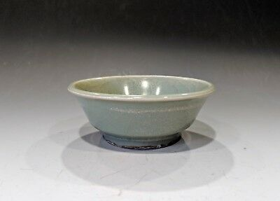 Antique Chinese Yuan Dynasty Longquan Celadon Porcelain Brush Washer