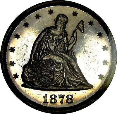 1878 Proof Seated Twenty Cent Piece  **600 Minted**  +++ Certified Ngc Pr-60 +++