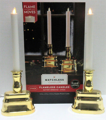 Matchless Candle Co. Battery Operated Flameless Candles - 2-Pack