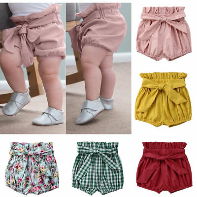 Newborn Infant Baby  Girl Kids Cotton Pants Shorts Bottoms PP Bloomers