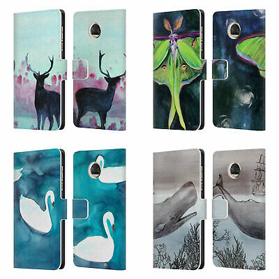 Official Mai Autumn Animals Leather Book Wallet Case Cover For Motorola Phones