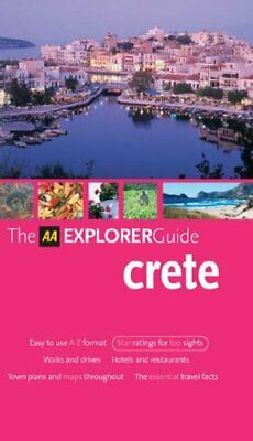 Crete (AA Explorer Guides) by AA Publishing Paperback Book The Cheap Fast Free