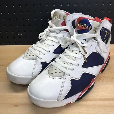 3d180205093550 Nike Air Jordan 7 Retro Tinker Alternate Olympic Gold USA 304775-123 Size 11