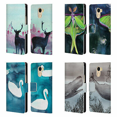 Official Mai Autumn Animals Leather Book Wallet Case For Wileyfox & Essential