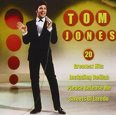 Tom Jones - 20 Greatest Hits - Tom Jones CD HOVG The Cheap Fast Free Post The