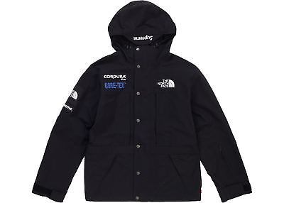 fa1969ea80 Supreme x The North Face Expedition Jacket Black Size Medium FW18 (IN HAND)