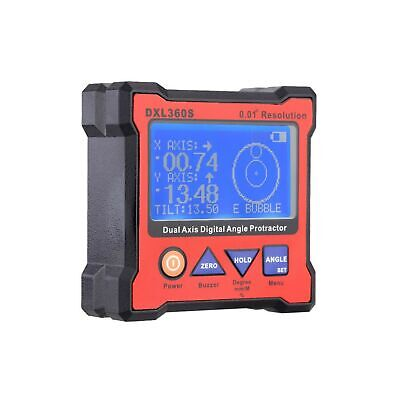 KKmoon Digital Level, DXL360S Dual Axis Digital Angle Protractor with 5 Side ...