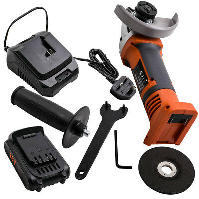 """18V Battery HEAVY DUTY SILVERLINE 800W 4.5"""" 115MM ELECTRIC ANGLE GRINDER"""
