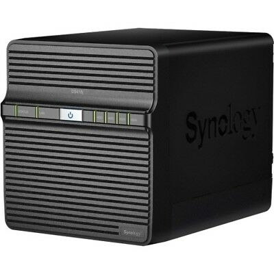 Synology Powerful Entry-level 4-bay NAS for Home Data Backup and Multimedia Stre
