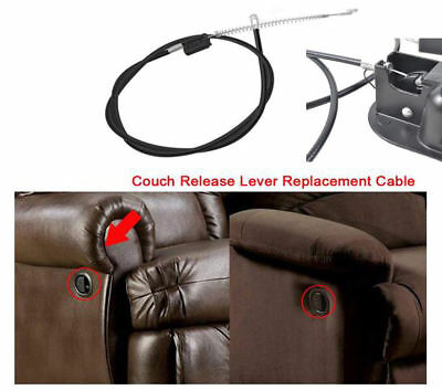 1/10x Recliner Handle Replacement Release Cable For Sofa Chair Couch Lounge 90mm