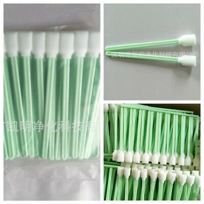 50Pcs Cleaner Swab Camera Lenses Inkjet Printer Swabs Sponge Head Cleaning