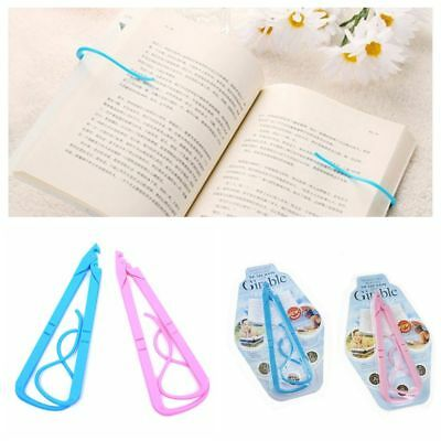 Sale Plastic Convenient Portable Books Holder Reader Tool Bookends Bookshelf