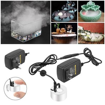Ultrasonic Mist Maker Fogger Water Fountain Pond Atomizer Air Humidifier NO LED