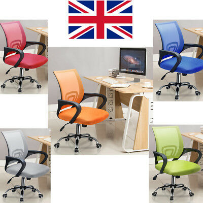 Swivel Lift Office Home Chair Desk Computer Gaming Study Chairs Mesh Seat 360°