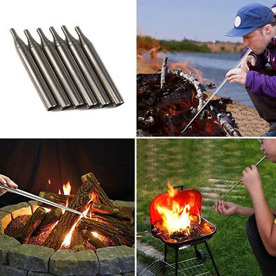 Outdoor Pocket Bellow Collapsible Fire Tools Kit Camping Survival Blow Tube Best