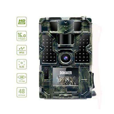 1080P Chasse de Caméra 16MP Sauvage Hunter Cachée Vision Nocturne Infrarouge LED