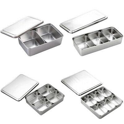 Stainless Steel Seasoning Box Japanese Style Flavour Container Spice Rack